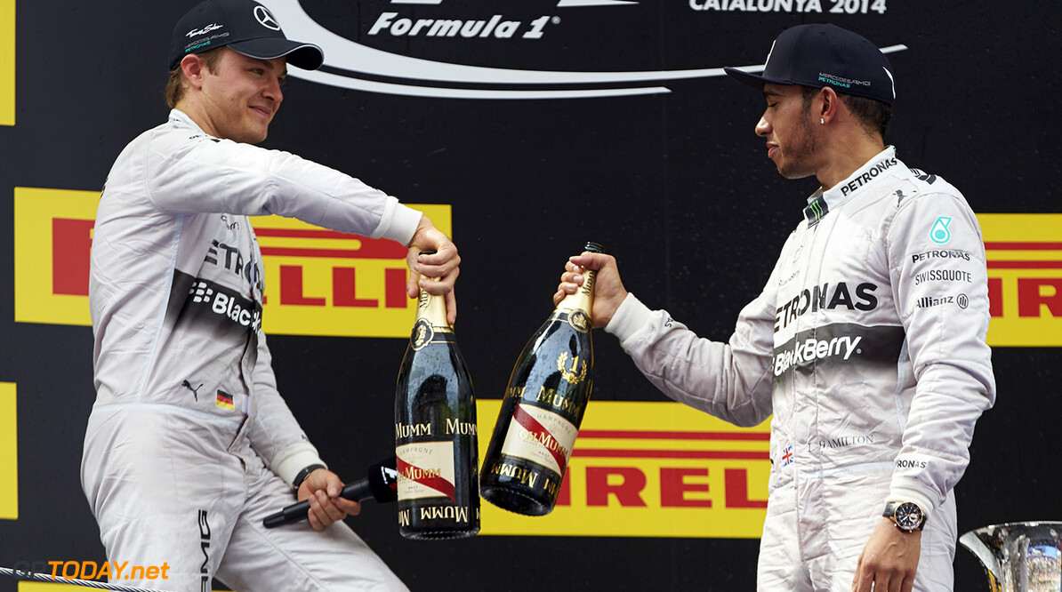 Wolff '99pc sure' of unchanged Mercedes lineup for 2015