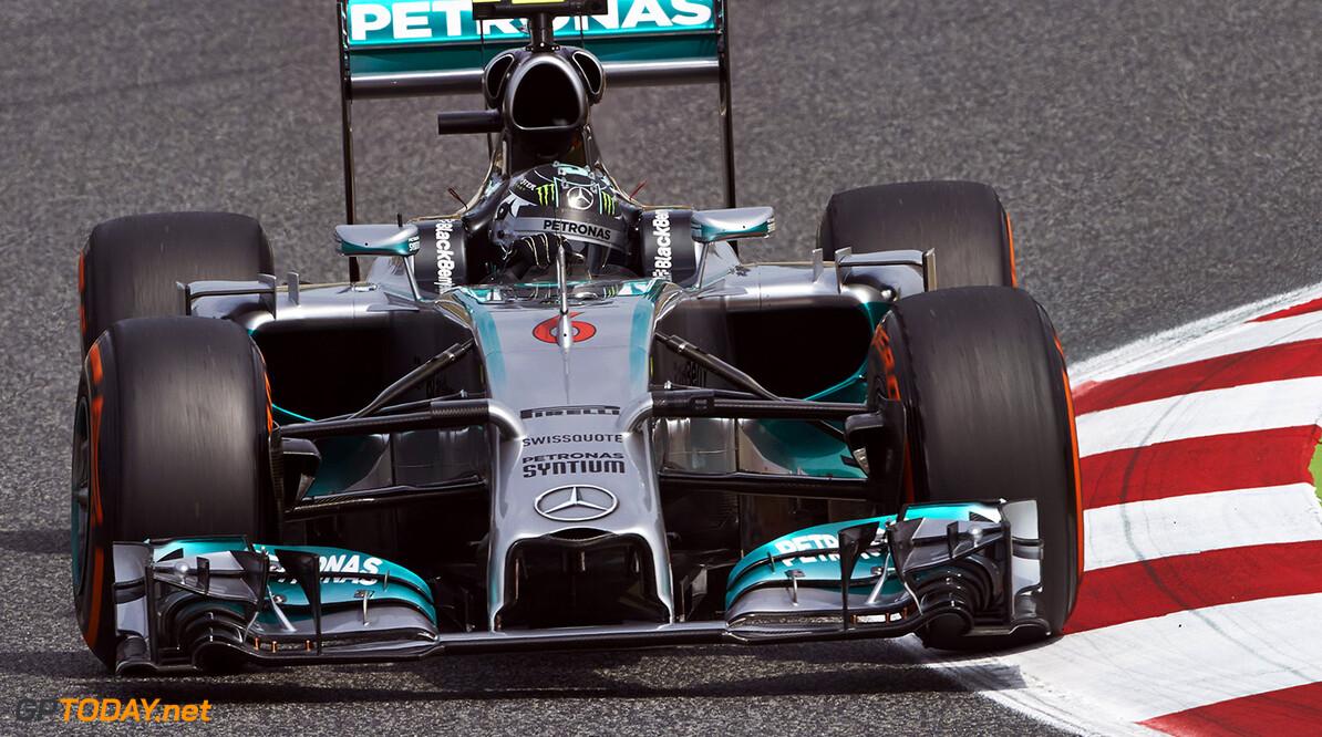 Rosberg oefende een dag in simulator zonder communicatie
