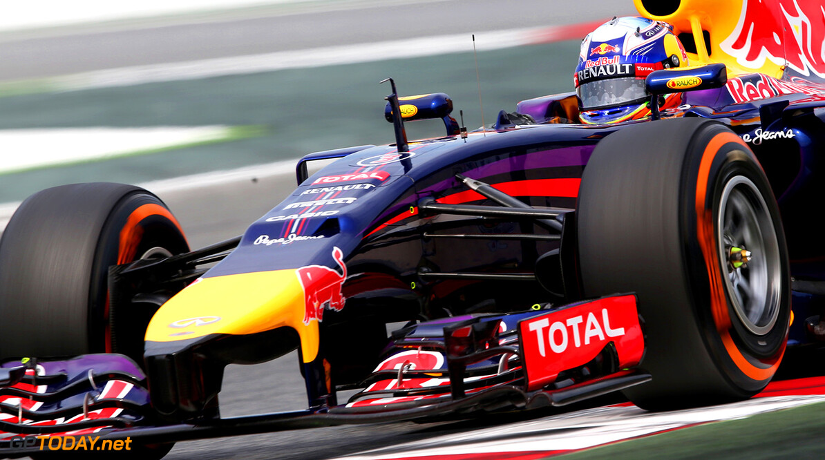 MONTMELO, SPAIN - MAY 10:  Daniel Ricciardo of Australia and Infiniti Red Bull Racing drives during final practice ahead of the Spanish F1 Grand Prix at Circuit de Catalunya on May 10, 2014 in Montmelo, Spain.  (Photo by Mark Thompson/Getty Images) *** Local Caption *** Daniel Ricciardo Spanish F1 Grand Prix - Qualifying Mark Thompson Montmelo Spain  Formula One Racing formula 1 Auto Racing Spain F1 Grand Prix Spanish Formula One Grand Prix Formula One Grand Prix Barcelona
