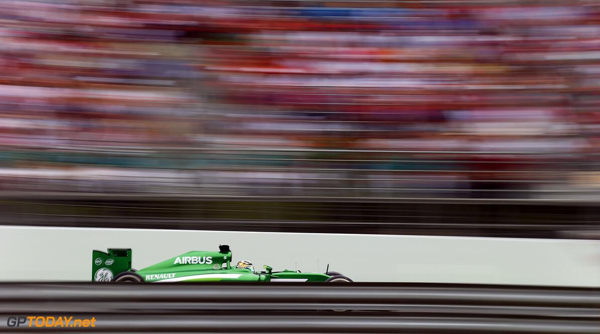 Circuit de Catalunya, Barcelona, Spain. Sunday 11 May 2014. Marcus Ericsson, Caterham CT05 Renault. World Copyright: Steven Tee/LAT Photographic. ref: Digital Image _L4R4215      f1 formula 1 formula one gp grand prix
