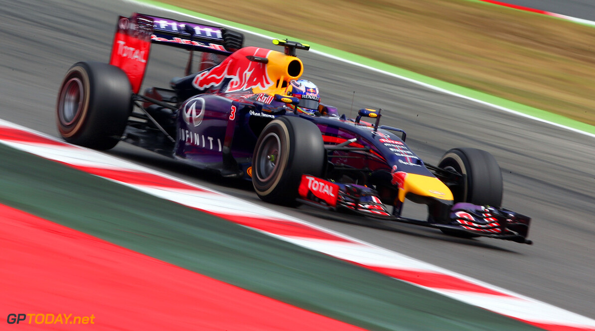 MONTMELO, SPAIN - MAY 11:  Daniel Ricciardo of Australia and Infiniti Red Bull Racing drives during the Spanish Formula One Grand Prix at Circuit de Catalunya on May 11, 2014 in Montmelo, Spain.  (Photo by Clive Mason/Getty Images) *** Local Caption *** Daniel Ricciardo Spanish F1 Grand Prix - Race Clive Mason Montmelo Spain  Formula One Racing formula 1 Auto Racing Spain F1 Grand Prix Spanish Formula One Grand Prix Formula One Grand Prix Barcelona Race
