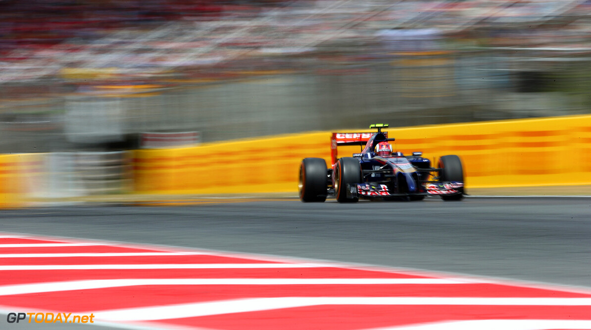 MONTMELO, SPAIN - MAY 11:  Daniil Kvyat of Russia and Scuderia Toro Rosso drives during the Spanish Formula One Grand Prix at Circuit de Catalunya on May 11, 2014 in Montmelo, Spain.  (Photo by Paul Gilham/Getty Images) *** Local Caption *** Daniil Kvyat Spanish F1 Grand Prix - Race Paul Gilham Montmelo Spain  Formula One Racing formula 1 Auto Racing Spain F1 Grand Prix Spanish Formula One Grand Prix Formula One Grand Prix Barcelona Race