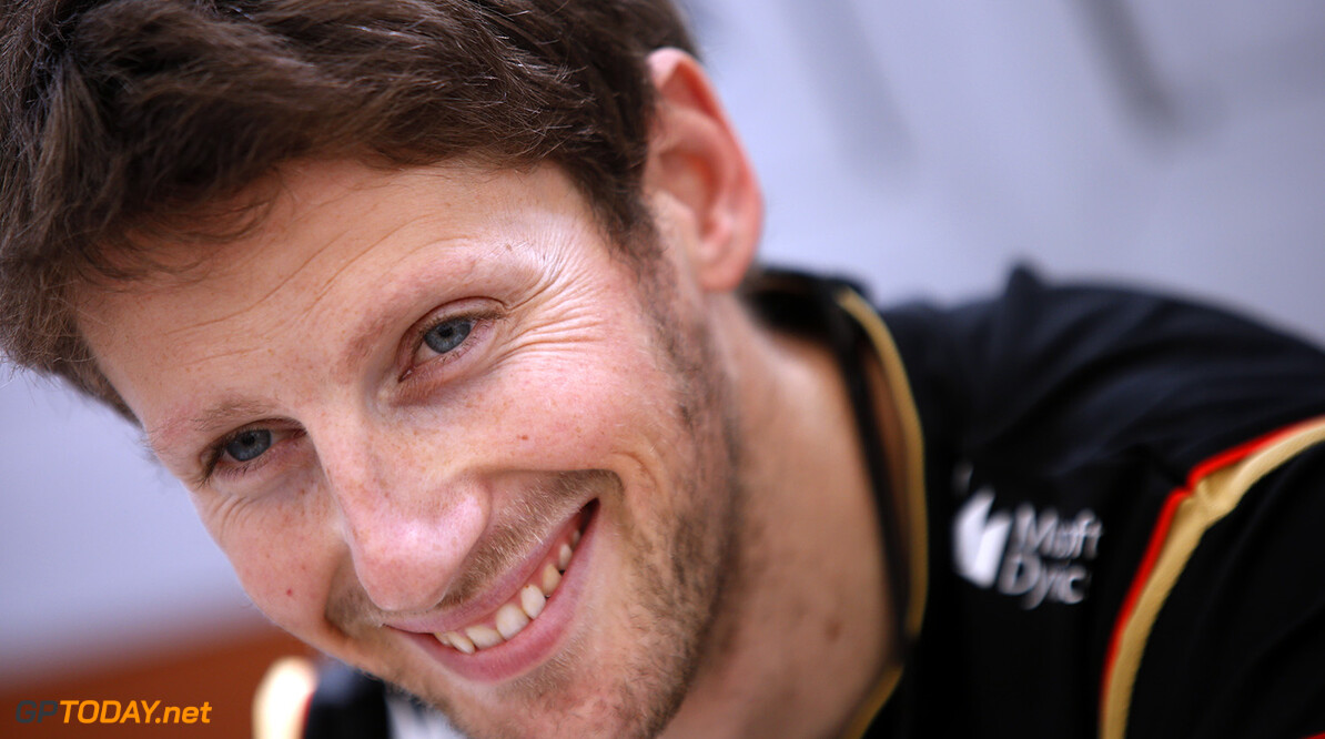 Grosjean may announce his plans for 2015 this weekend