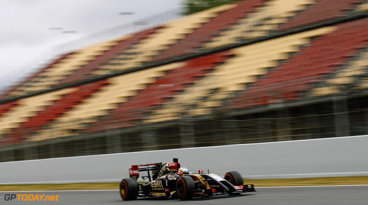 Circuit de Catalunya, Barcelona, Spain. Tuesday 13 May 2014. Charles Pic, Lotus E22 Renault. World Copyright: Sam Bloxham/Lotus F1. ref: Digital Image _G7C9042  Sam Bloxham    f1 formula 1 formula one testing test Action