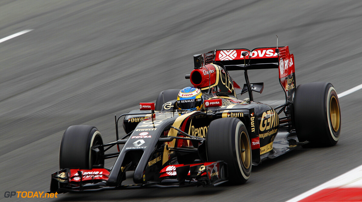 Circuit de Catalunya, Barcelona, Spain. Tuesday 13 May 2014. Charles Pic, Lotus E22 Renault. World Copyright: Sam Bloxham/Lotus F1. ref: Digital Image _G7C9219  Sam Bloxham    f1 formula 1 formula one testing test Action