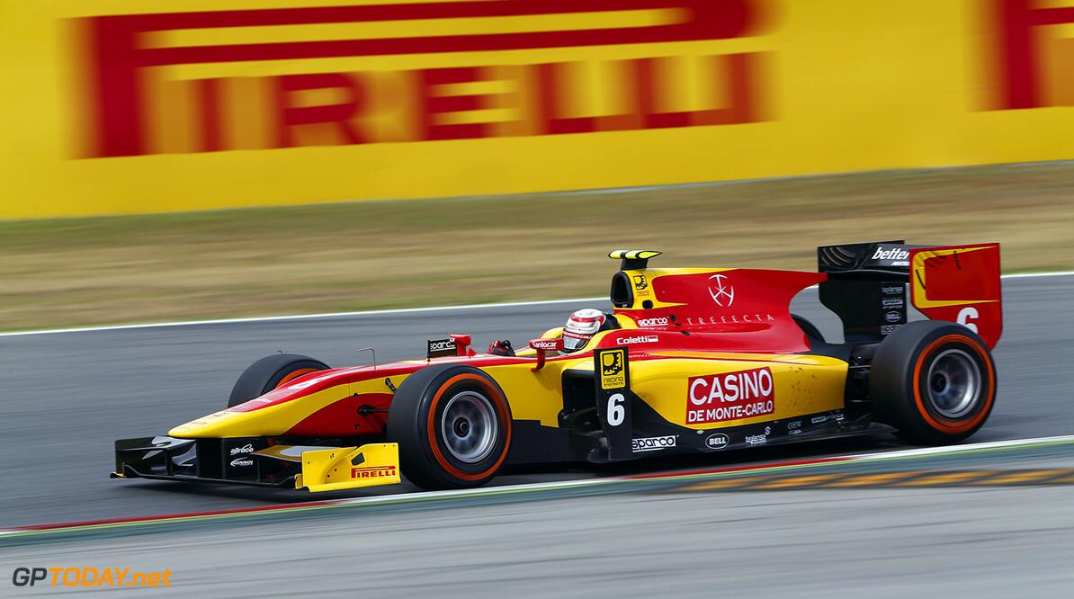 2014 GP2 Series Round 2 - Race 1. Circuit de Catalunya, Barcelona, Spain. Saturday 10 May 2014. Stefano Coletti (MON, Racing Engineering)  Photo: Sam Bloxham/GP2 Series Media Service. ref: Digital Image _SBL6510   Sam Bloxham