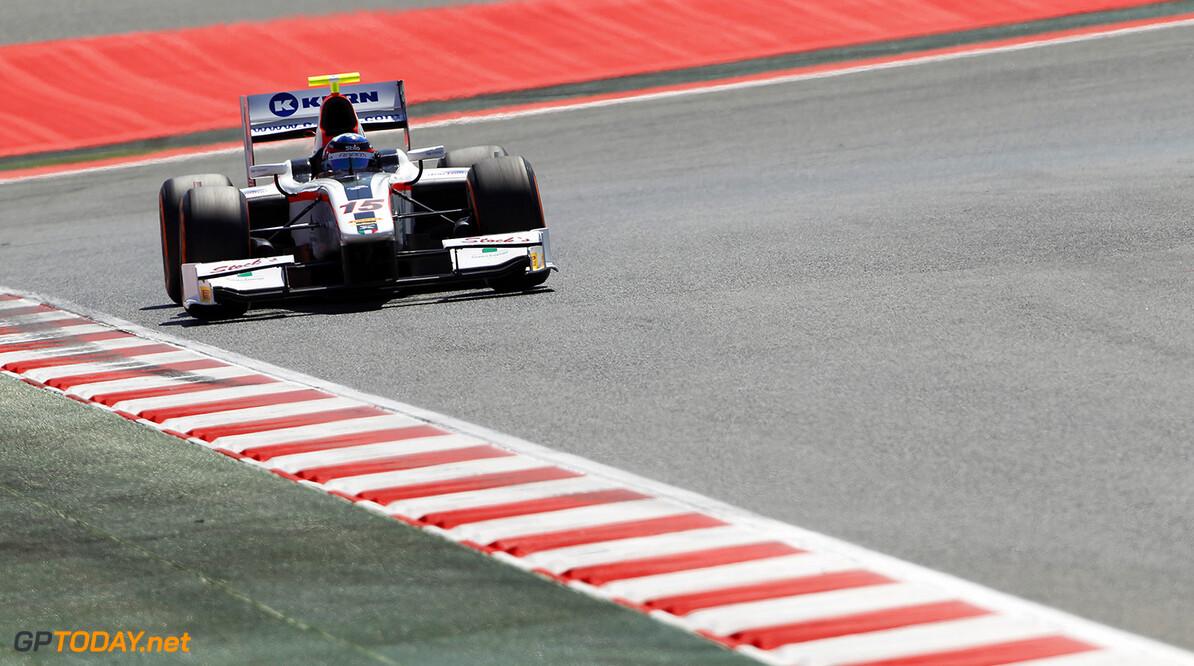 2014 GP2 Series Round 2 - Practice. Circuit de Catalunya, Barcelona, Spain. Friday 9 May 2014. Simon Trummer (SUI, Rapax)  Photo: Sam Bloxham/GP2 Series Media Service. ref: Digital Image _G7C3805   Sam Bloxham
