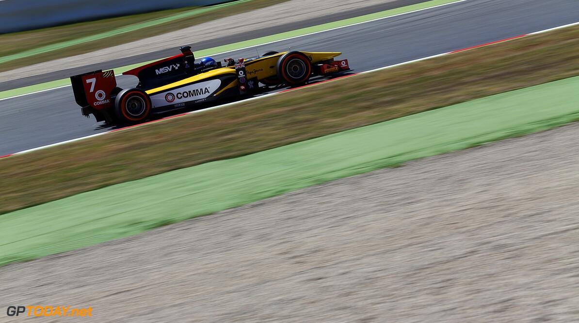 2014 GP2 Series Round 2 - Practice. Circuit de Catalunya, Barcelona, Spain. Friday 9 May 2014. Jolyon Palmer (GBR, DAMS)  Photo: Sam Bloxham/GP2 Series Media Service. ref: Digital Image _SBL4255   Sam Bloxham