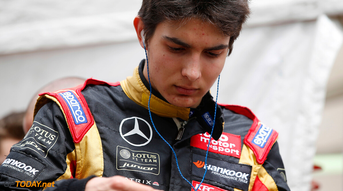 Ocon enjoyed his two-day test for Lotus at Valencia