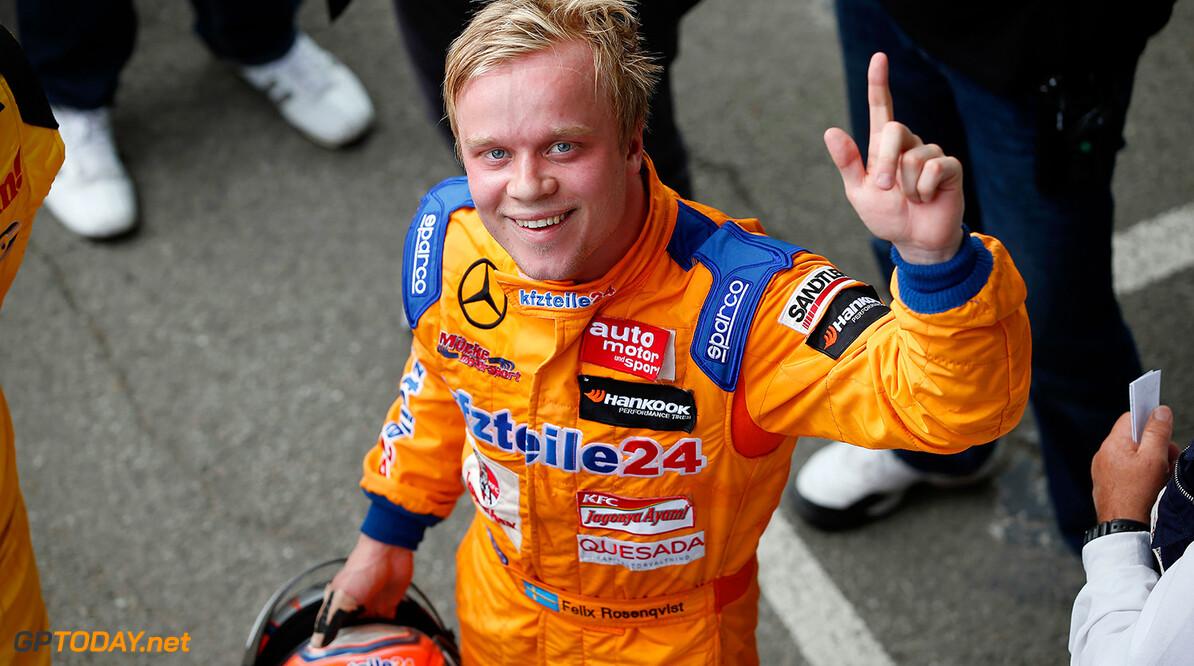 Rosenqvist wint Grand Prix van Macau na grote startcrash