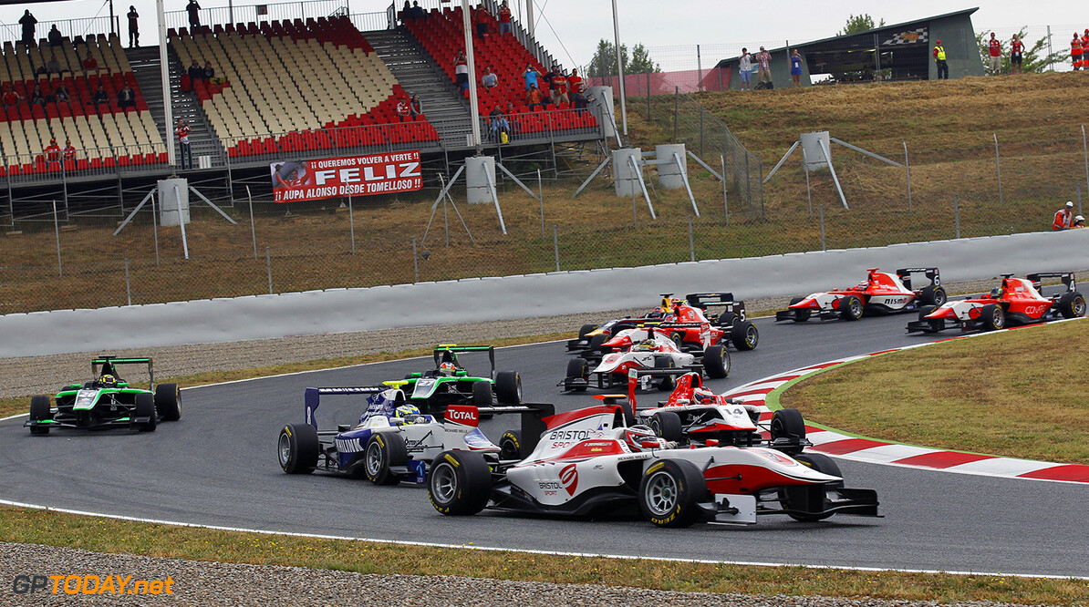 2014 GP3 Series Round 1 - Race 2.