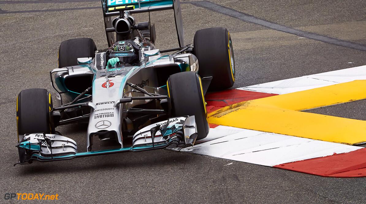 Rosberg verzekert zichzelf van pole position in Monaco
