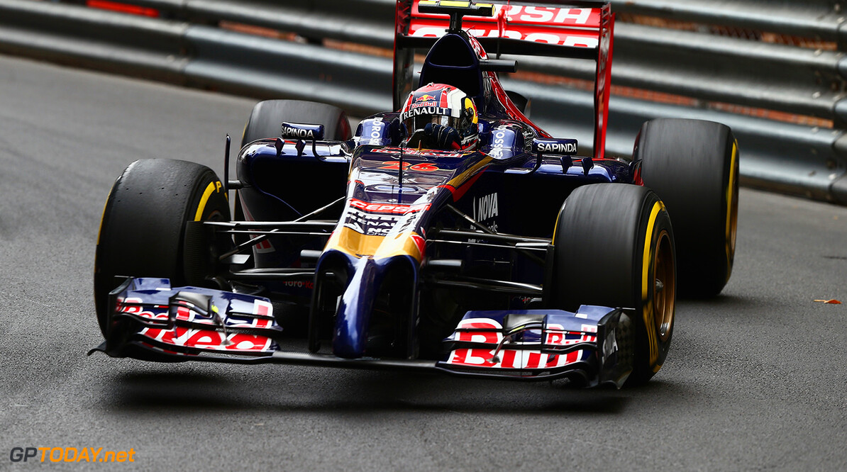 MONTE-CARLO, MONACO - MAY 22:  Daniil Kvyat of Russia and Scuderia Toro Rosso drives during practice ahead of the Monaco Formula One Grand Prix at Circuit de Monaco on May 22, 2014 in Monte-Carlo, Monaco.  (Photo by Clive Mason/Getty Images) *** Local Caption *** Daniil Kvyat F1 Grand Prix of Monaco - Practice Clive Mason Monte-Carlo Monaco  Formula One Racing formula 1 Auto Racing Formula One Grand Prix Monaco GP Monaco Formula One Grand Prix