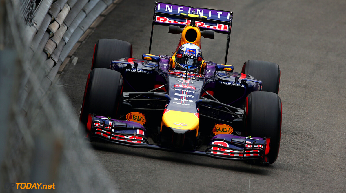 MONTE-CARLO, MONACO - MAY 22:  Daniel Ricciardo of Australia and Infiniti Red Bull Racing racing drives during practice ahead of the Monaco Formula One Grand Prix at Circuit de Monaco on May 22, 2014 in Monte-Carlo, Monaco.  (Photo by Clive Mason/Getty Images) *** Local Caption *** Daniel Ricciardo F1 Grand Prix of Monaco - Practice Clive Mason Monte-Carlo Monaco  Formula One Racing formula 1 Auto Racing Formula One Grand Prix Monaco GP Monaco Formula One Grand Prix