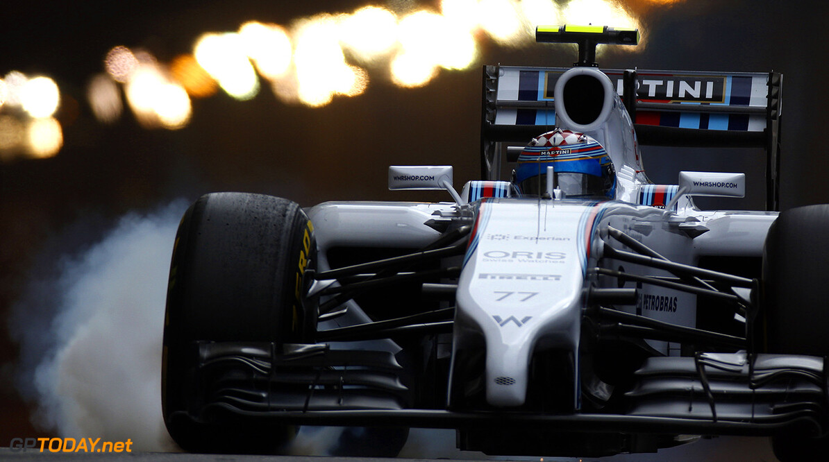 Monte Carlo, Monaco. Thursday 22 May 2014. Valterri Bottas, Williams FW36 Mercedes. Photo: Glenn Dunbar/Williams F1. ref: Digital Image _89P7389      f1 formula 1 formula one gp grand prix Action