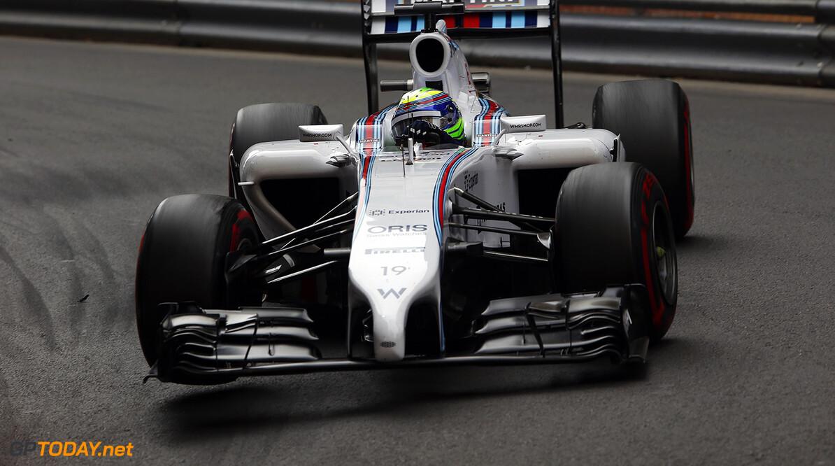 Monte Carlo, Monaco. Sunday 25 May 2014. Felipe Massa, Williams FW36 Mercedes. Photo: Charles Coates/Williams F1. ref: Digital Image _N7T8611  Charles Coates    f1 formula 1 formula one gp grand prix Action