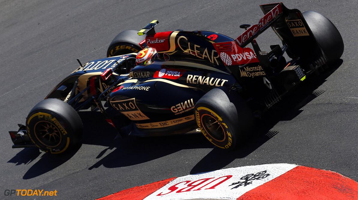 Monte Carlo, Monaco. Saturday 24 May 2014. Pastor Maldonado, Lotus E22 Renault. Photo: Alastair Staley/Lotus F1 Team. ref: Digital Image _79P2309      f1 formula 1 formula one gp grand prix Action