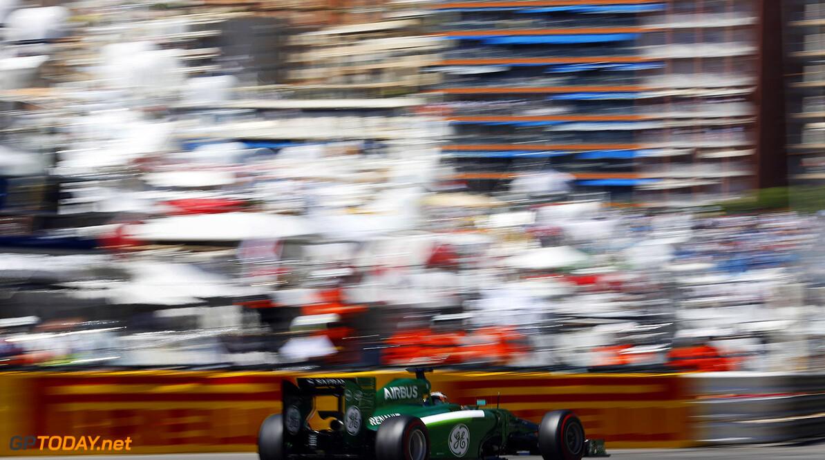 Monte Carlo, Monaco. Saturday 24 May 2014. Kamui Kobayashi, Caterham CT05 Renault. World Copyright: Steven Tee/LAT Photographic. ref: Digital Image _L0U9263  Steven Tee    f1 formula 1 formula one gp mco monegasque