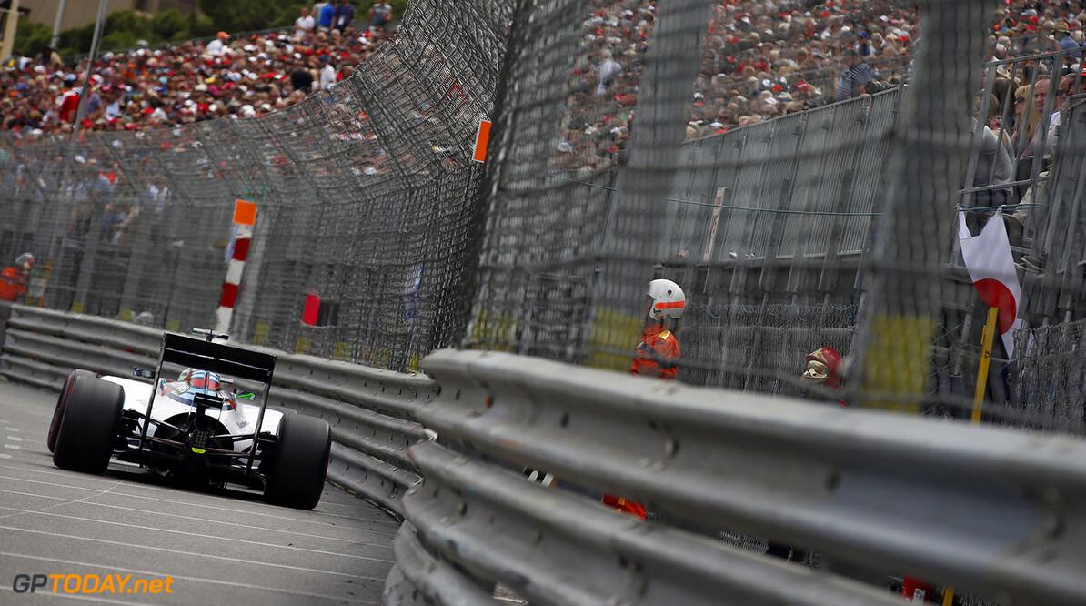 Monte Carlo, Monaco. Sunday 25 May 2014. Felipe Massa, Williams FW36 Mercedes. Photo: Glenn Dunbar/Williams F1. ref: Digital Image _89P0131  Glenn Dunbar    f1 formula 1 formula one gp grand prix Action