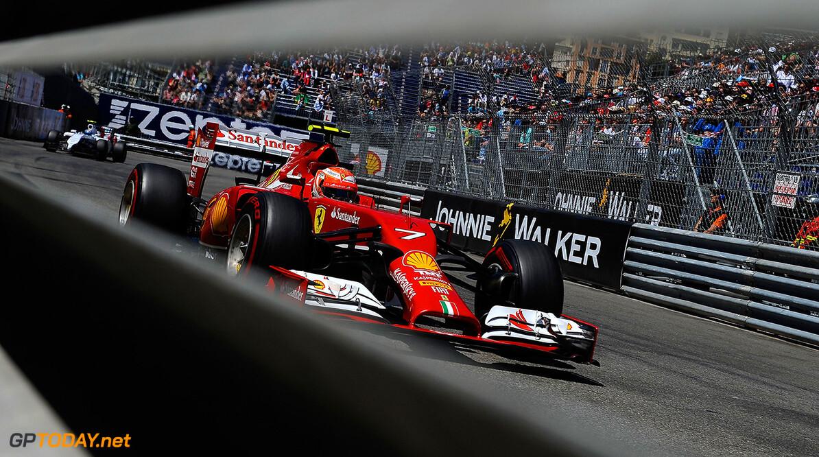 Kimi Raikkonen maakt kennis met Ferrari voor 2015