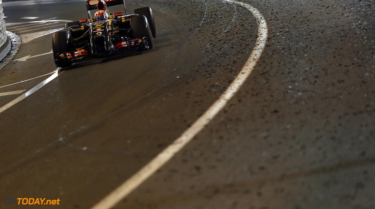 Monte Carlo, Monaco. Sunday 25 May 2014. Romain Grosjean, Lotus E22 Renault. Photo: Andrew Ferraro/Lotus F1 Team. ref: Digital Image _FER6839      f1 formula 1 formula one gp grand prix Action