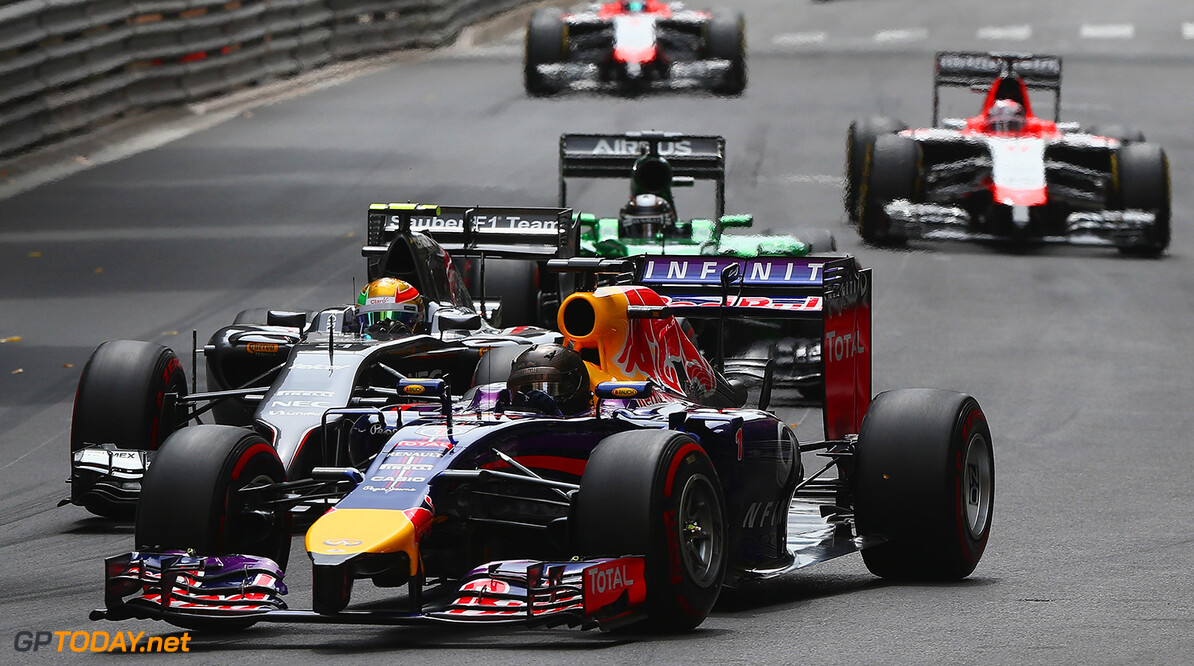 MONTE-CARLO, MONACO - MAY 25:  Sebastian Vettel of Germany and Infiniti Red Bull Racing drives during the Monaco Formula One Grand Prix at Circuit de Monaco on May 25, 2014 in Monte-Carlo, Monaco.  (Photo by Clive Mason/Getty Images) *** Local Caption *** Sebastian Vettel F1 Grand Prix of Monaco Clive Mason Monte-Carlo Monaco  Formula One Racing formula 1 Auto Racing Formula One Grand Prix Monaco GP Monaco Formula One Grand Prix