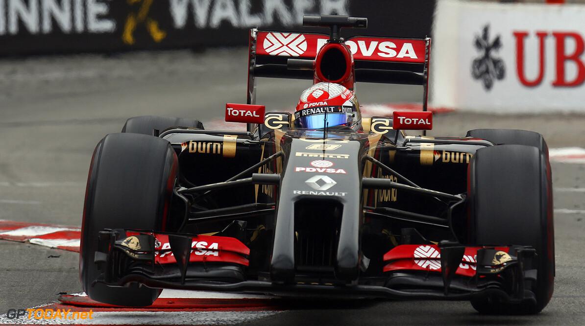 Monte Carlo, Monaco. Sunday 25 May 2014. Romain Grosjean, Lotus E22 Renault. Photo: Alastair Staley/Lotus F1 Team. ref: Digital Image _R6T2850  Al Staley    f1 formula 1 formula one gp grand prix Action