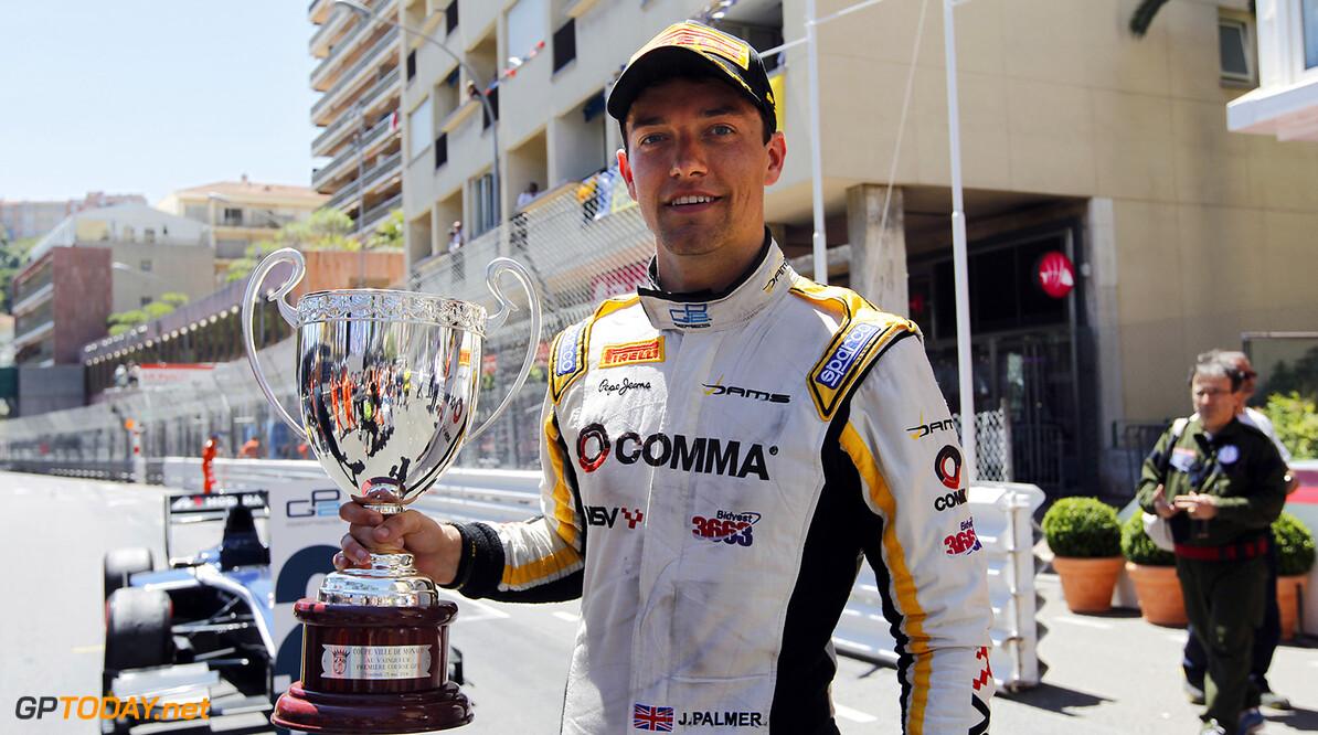 2014 GP2 Series Round 3 - Race 1 Monte Carlo, Monaco. Friday 23 May 2014. Jolyon Palmer (GBR, DAMS)  Photo: Sam Bloxham/GP2 Series Media Service. ref: Digital Image _G7C2330   Sam Bloxham    Race One
