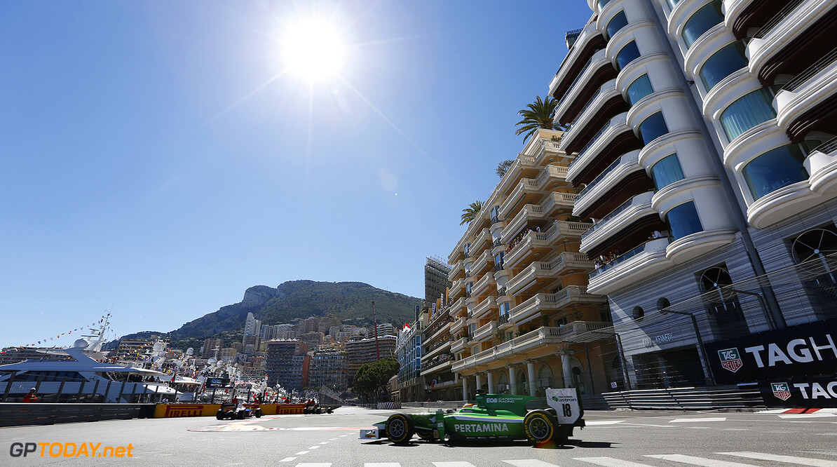 2014 GP2 Series Round 3 - Race 2 Monte Carlo, Monaco. Saturday 24 May 2014. Rio Haryanto (INA, EQ8 Caterham Racing)  Photo: Alastair Staley/GP2 Series Media Service. ref: Digital Image _79P3201   Alastair Staley    Race Two