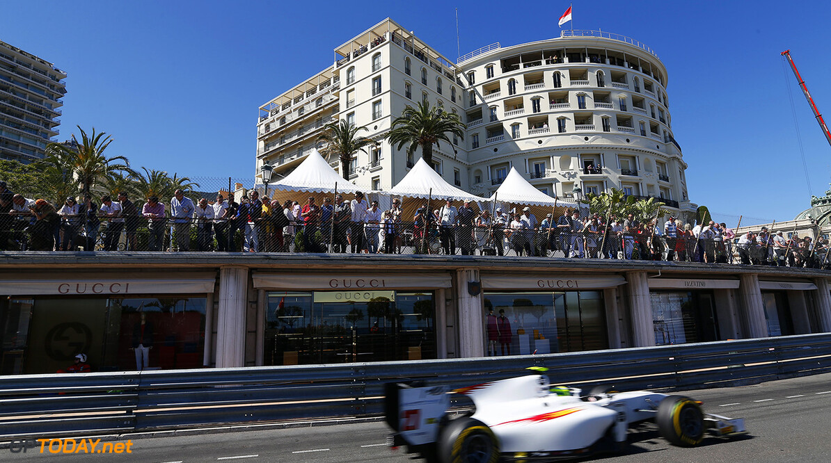 2014 GP2 Series Round 3 - Race 2 Monte Carlo, Monaco. Saturday 24 May 2014. Kimiya Sato (JPN, Campos Racing)  Photo: Sam Bloxham/GP2 Series Media Service. ref: Digital Image _SBL3705   Sam Bloxham    Race Two