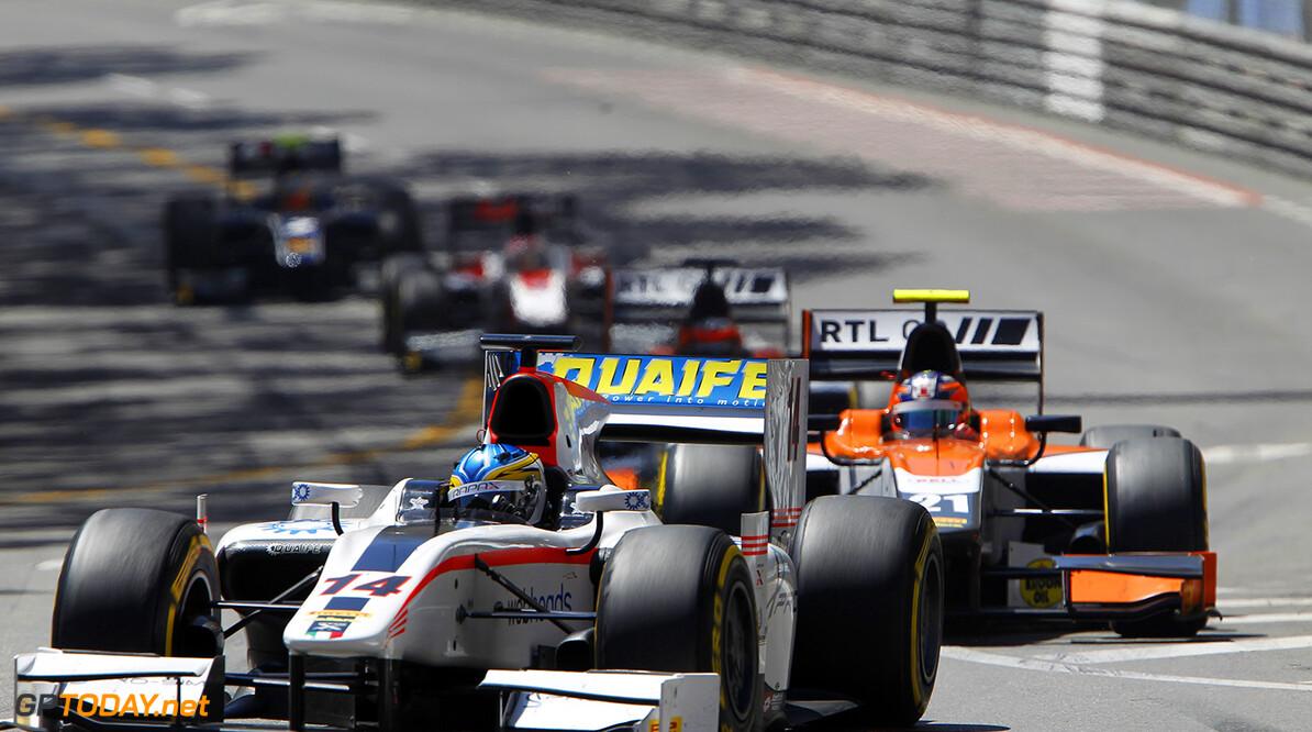 2014 GP2 Series Round 3 - Race 1 Monte Carlo, Monaco. Friday 23 May 2014. Adrian Quaife-Hobbs (GBR, Rapax)  Photo: Sam Bloxham/GP2 Series Media Service. ref: Digital Image _G7C2158   Sam Bloxham    Race One