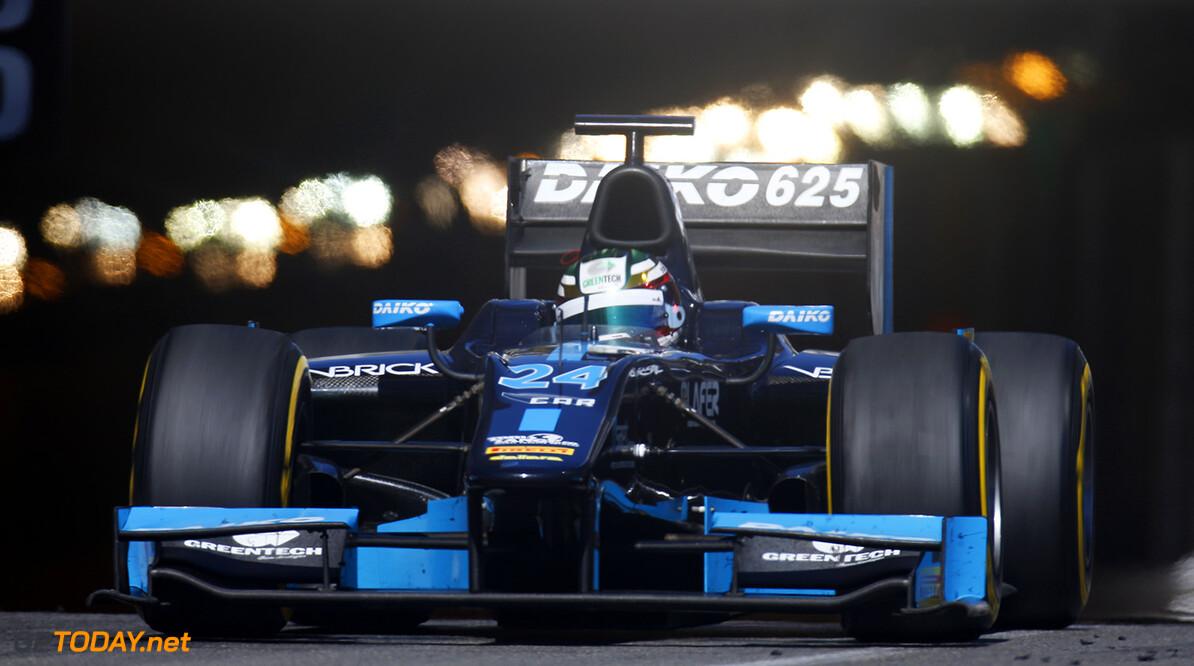 2014 GP2 Series Round 3 - Race 2 Monte Carlo, Monaco. Saturday 24 May 2014. Nathanael Berthon (FRA, Venezuela GP Lazarus)  Photo: Alastair Staley/GP2 Series Media Service. ref: Digital Image _79P3673   Alastair Staley    Race Two