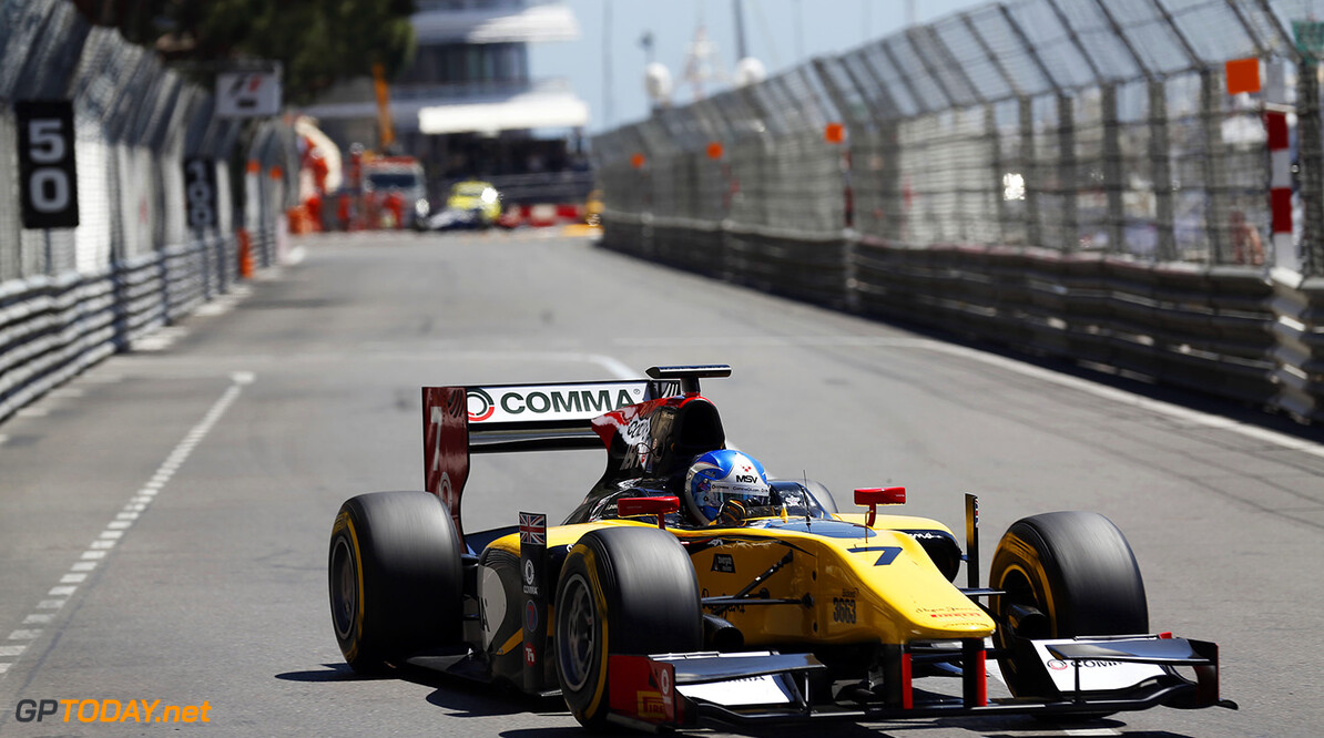 2014 GP2 Series Round 3 - Race 1 Monte Carlo, Monaco. Friday 23 May 2014. Jolyon Palmer (GBR, DAMS)  Photo: Sam Bloxham/GP2 Series Media Service. ref: Digital Image _SBL2999   Sam Bloxham    Race One