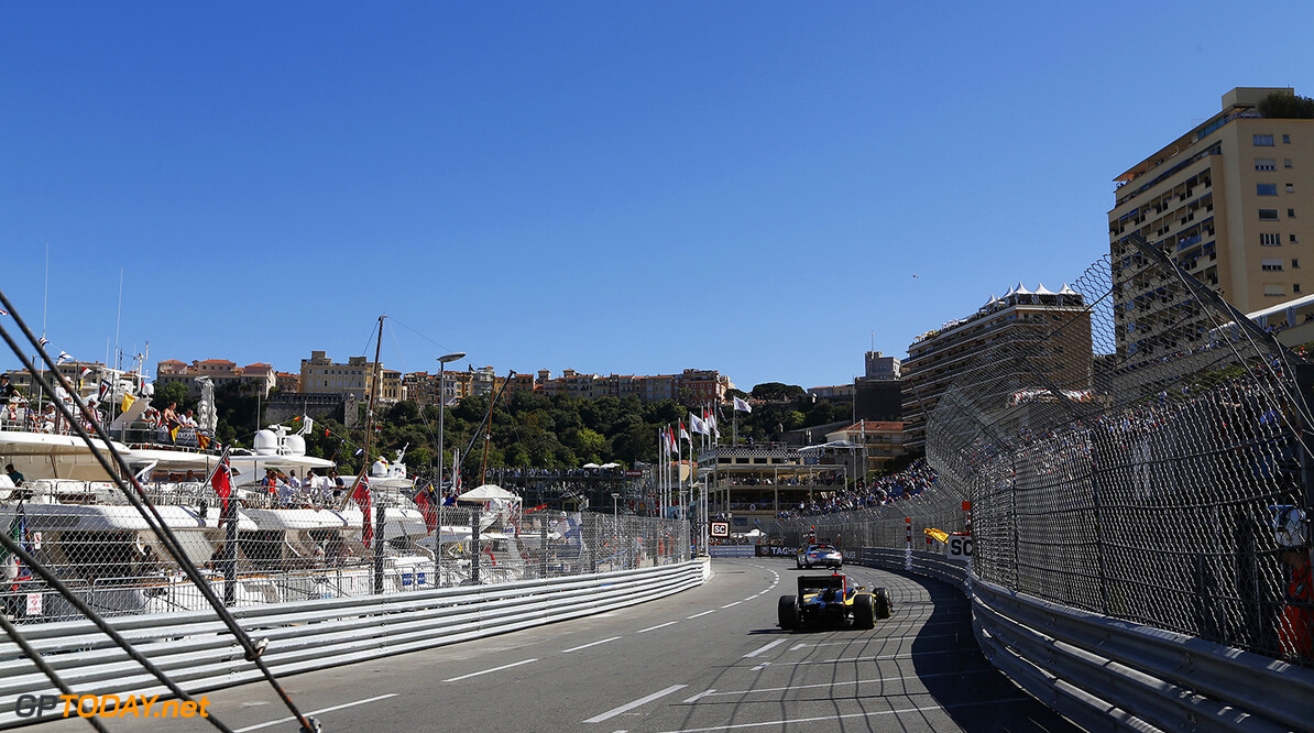 2014 GP2 Series Round 3 - Race 2 Monte Carlo, Monaco. Saturday 24 May 2014. The Safety car is deployed  Photo: Sam Bloxham/GP2 Series Media Service. ref: Digital Image _SBL3861   Sam Bloxham    Race Two