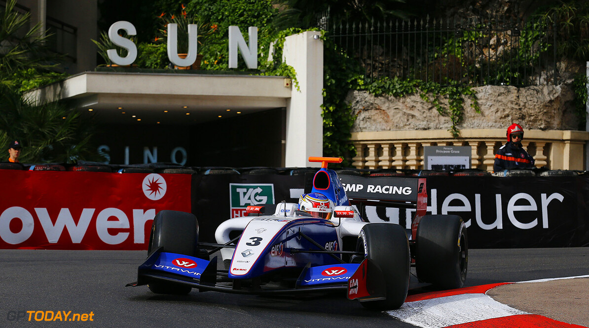 03 SIROTKIN Sergey (Rus) Formula Renault 3.5 Fortec Motorsports action during the 2014 World Series by Renault, on May 24th, 2014 in Monaco. Photo Gregory Lenormand / DPPI AUTO - WSR MONACO 2014 Gregory Lenormand Monaco Monaco  Auto Car FR Formula Renault MONOPLACE Motorsport Race UNIPLACE WSR WORLD SERIES BY RENAULT 2014