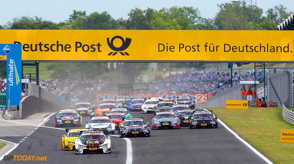 Motorsports / DTM 3. race Hungaroring, HUN #23 Marco Wittmann (D, BMW Team RMG, BMW M4 DTM), Motorsports / DTM 3. race Hungaroring, HUN     Aktion - Action Fahraufnahme Fahrszene - race action Motorsport Partner01 Partner03 Rennen Rennen - race Rennszene Sport fahrt