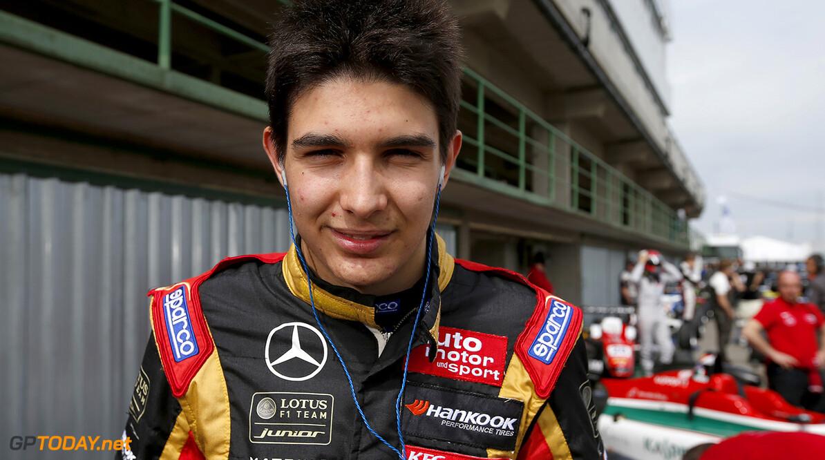 Esteban Ocon test vandaag in Ferrari F10 op Fiorano