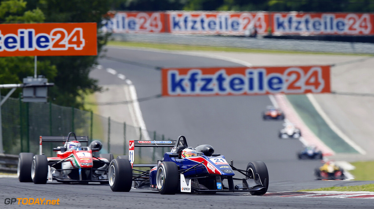 FIA Formula 3 European Championship, round 4, race 2, Hungarorin 21 Felix Serralles (PRI, Team West-Tec F3, Dallara F312 - Mercedes), FIA Formula 3 European Championship, round 4, race 2, Hungaroring (HUN) - 30. May - 1. June 2014 FIA Formula 3 European Championship, round 4, race 2, Hungaroring (HUN) Thomas Suer Budapest Hungary