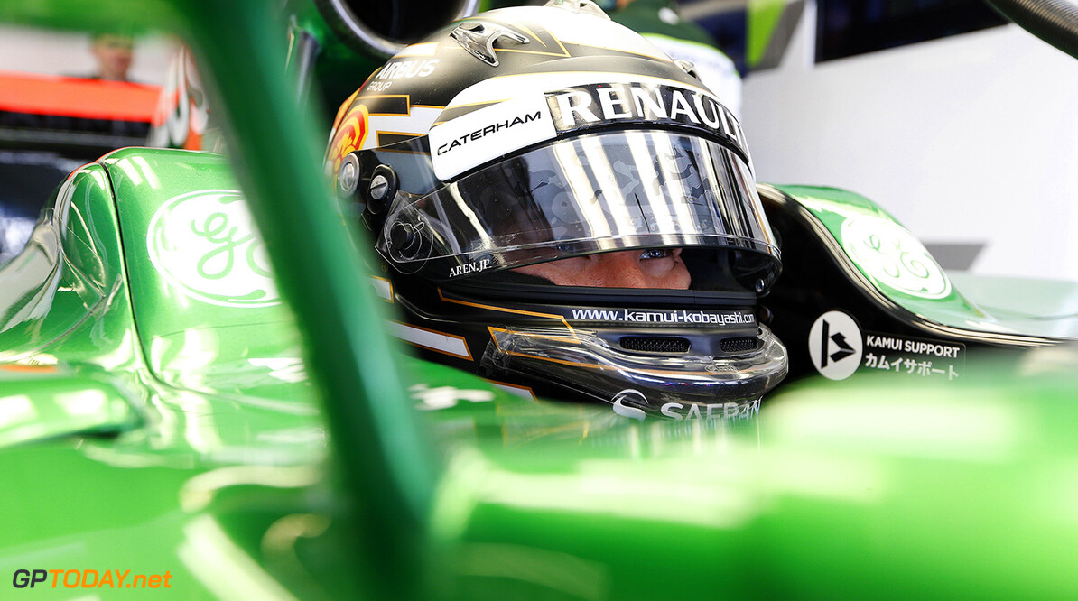 Caterham confirms Kobayashi to race in Singapore