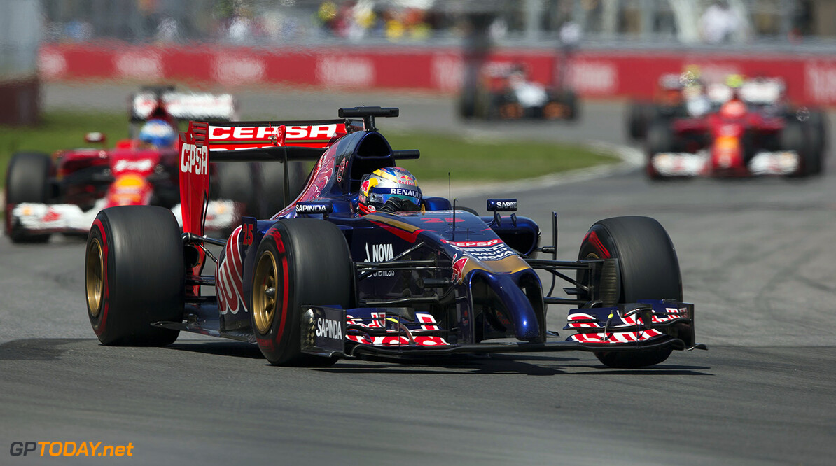 493595009PF039_Canadian_F1_ MONTREAL, QC - JUNE 08:  Jean-Eric Vergne of Toro Rosso and France during the Canadian F1 Grand Prix at Circuit Gilles Villeneuve on June 8, 2014 in Montreal, Canada.  (Photo by Peter J Fox/Getty Images,) *** Local Caption *** Jean-Eric Vergne Canadian F1 Grand Prix Peter J Fox Montreal Canada  Formula One Racing formula 1 Auto Racing Formula One Grand Prix Canadian F1 Grand Prix Canadian Formula One Grand Prix