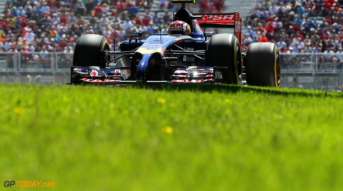 MONTREAL, QC - JUNE 07:  Daniil Kvyat of Russia and Scuderia Toro Rosso drives during final practice ahead of the Canadian Formula One Grand Prix at Circuit Gilles Villeneuve on June 7, 2014 in Montreal, Canada.  (Photo by Mathias Kniepeiss/Getty Images) *** Local Caption *** Daniil Kvyat Canadian F1 Grand Prix - Qualifying Mathias Kniepeiss Montreal Canada  Formula One Racing formula 1 Auto Racing Formula One Grand Prix Canadian F1 Grand Prix Canadian Formula One Grand Prix