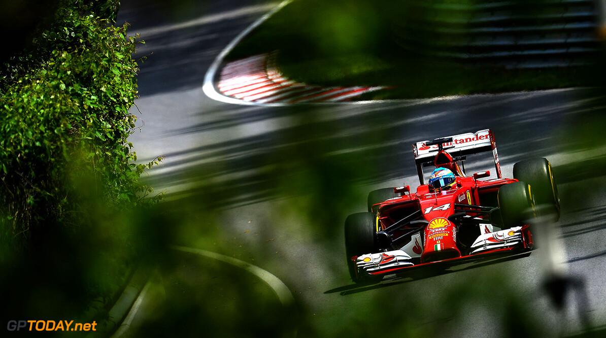 Alonso makes his last PR appearance for Ferrari in Bahrain