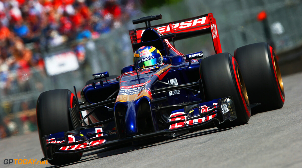 MONTREAL, QC - JUNE 06:  Jean-Eric Vergne of France and Scuderia Toro Rosso drives during practice ahead of the Canadian Formula One Grand Prix at Circuit Gilles Villeneuve on June 6, 2014 in Montreal, Canada.  (Photo by Mark Thompson/Getty Images) *** Local Caption *** Jean-Eric Vergne Rosso Canadian F1 Grand Prix - Practice Mark Thompson Montreal Canada  Formula One Racing formula 1 Auto Racing Formula One Grand Prix Canadian F1 Grand Prix Canadian Formula One Grand Prix