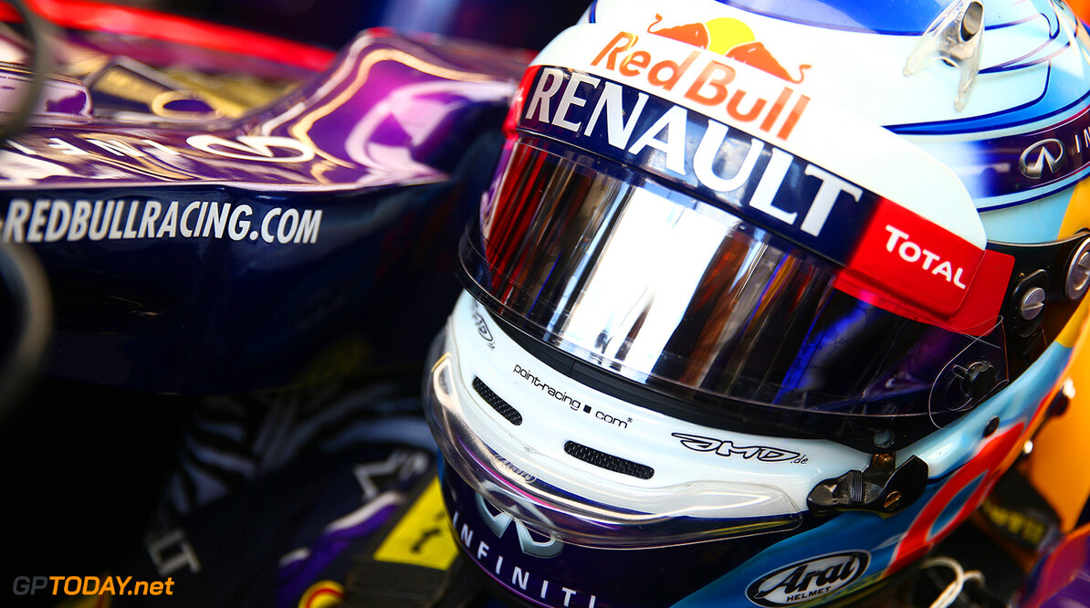 MONTREAL, QC - JUNE 07:  Sebastian Vettel of Germany and Infiniti Red Bull Racing prepares to drive during qualifying ahead of the Canadian Formula One Grand Prix at Circuit Gilles Villeneuve on June 7, 2014 in Montreal, Canada.  (Photo by Mark Thompson/Getty Images) *** Local Caption *** Sebastian Vettel Canadian F1 Grand Prix - Qualifying Mark Thompson Montreal Canada  Formula One Racing formula 1 Auto Racing Formula One Grand Prix Canadian F1 Grand Prix Canadian Formula One Grand Prix