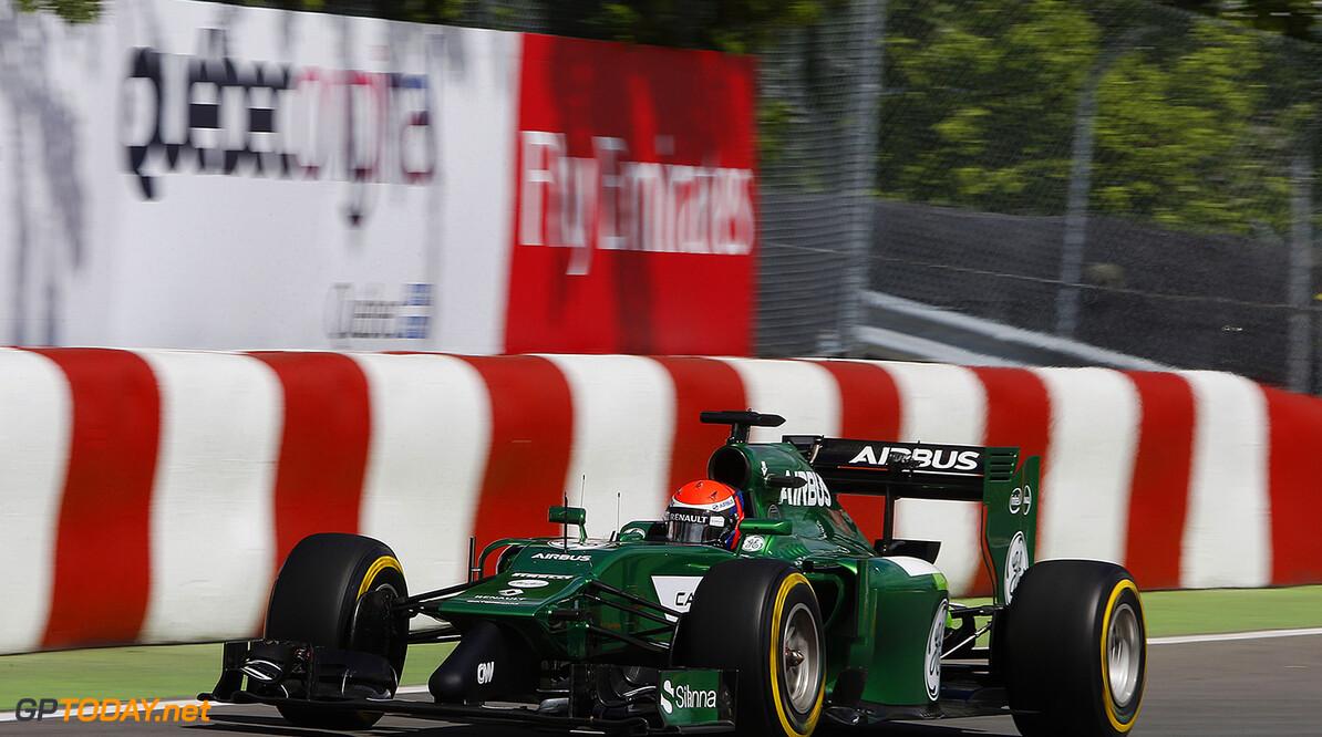 Circuit Gilles Villeneuve, Montreal, Canada. Friday 6 June 2014. World Copyright: Charles Coates/LAT Photographic. ref: Digital Image _J5R8525      f1 formula 1 formula one gp cdn Action