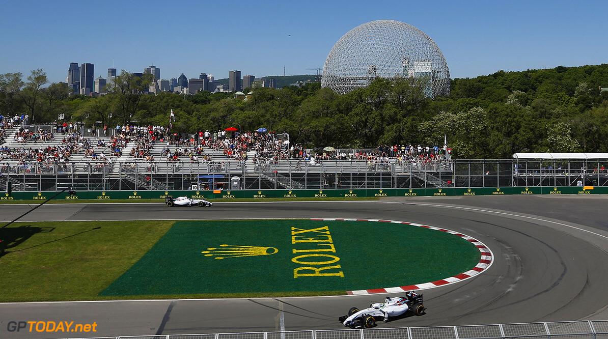 Circuit Gilles Villeneuve, Montreal, Canada. Saturday 7 June 2014. Felipe Massa, Williams FW36 Mercedes. World Copyright: Alastair Staley/LAT Photographic. ref: Digital Image _79P8494      f1 formula 1 formula one gp cdn Action