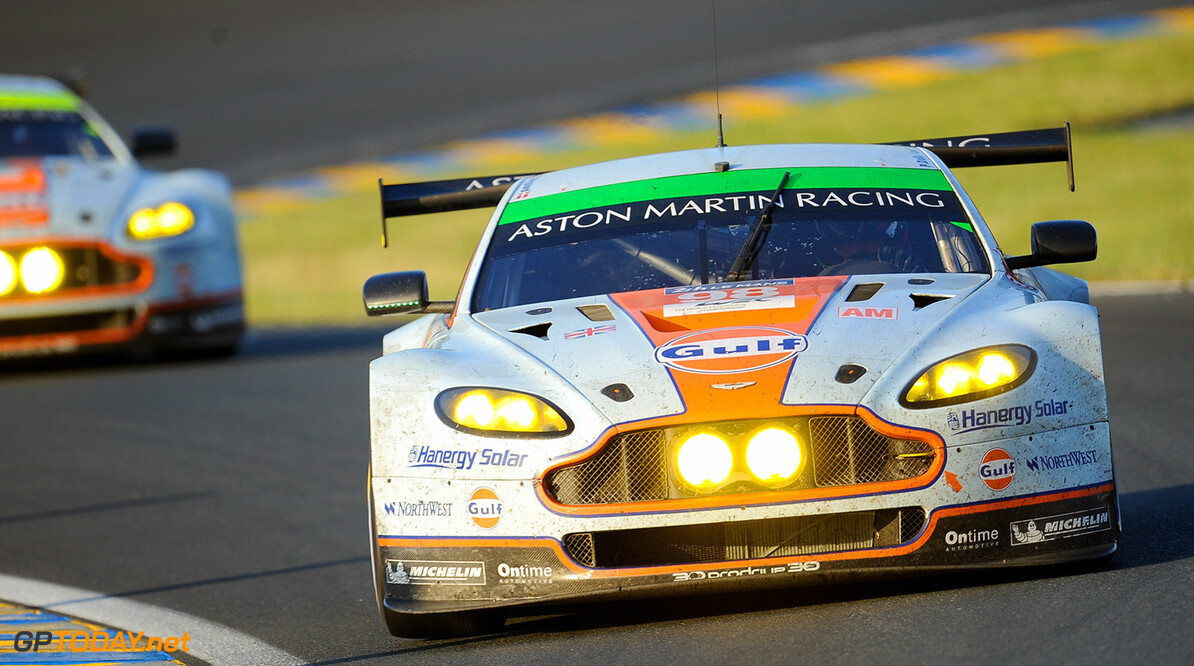 CAR #98 LMPGTE AM (WEC) ASTON MARTIN RACING DURING THE RACE - 24 HEURES DU MANS 2014  Arnaud CORNILLEAU    #98 ASTON MARTIN RACING (GBR) ASTON MARTIN VANTAGE V8 2014 24 HOURS OF LE MANS (FRA) ENDURANCE EVENT FIA WORLD ENDURANCE CHAMPIONSHIP MOTORSPORT PLACE RACE TRACK WEC