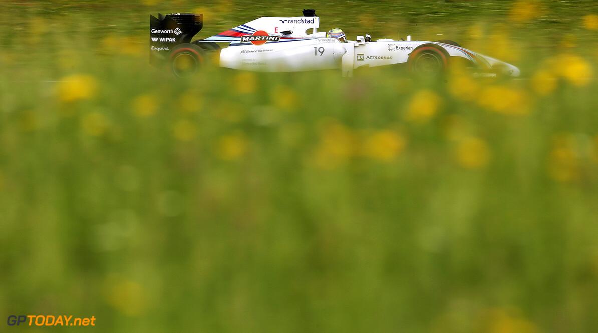 _L4R9431.jpg Red Bull Ring, Spielberg, Austria. Friday 20 June 2014. Felipe Massa, Williams FW36 Mercedes. World Copyright: Steven Tee/LAT Photographic. ref: Digital Image _L4R9431 -------------------- Steven Tee / Williams 2014 FIA Formula One World Championship Austrian Grand Prix 20 June 2014 (C)2014 Steven Tee / Williams all rights reserved Red Bull Ring, Spielberg, Austria. Friday 20 June 2014. Felipe Massa, Williams FW36 Mercedes. World Copyright: Steven Tee/LAT Photographic. ref: Digital Image _L4R9431 Steven Tee    f1 formula 1 formula one gp aut action