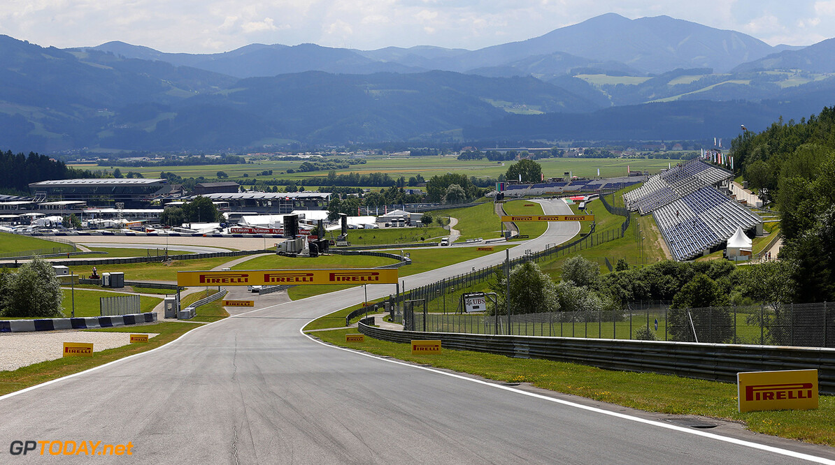 _X0W0740.jpg Red Bull Ring, Spielberg, Austria. Thursday 19 June 2014. A scenic view of the circuit. World Copyright: Steven Tee/Lotus F1. ref: Digital Image _X0W0740 -------------------- Steven Tee / Lotus F1 2014 FIA Formula One World Championship Austrian Grand Prix 19 June 2014 (C)2014 Steven Tee / Lotus F1 all rights reserved Red Bull Ring, Spielberg, Austria. Thursday 19 June 2014. A scenic view of the circuit. World Copyright: Steven Tee/Lotus F1. ref: Digital Image _X0W0740 Steven Tee    f1 formula 1 formula one gp cdn aut atmosphere