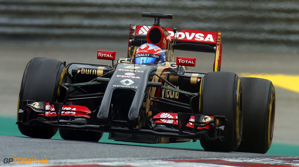 _79P3080.jpg Red Bull Ring, Spielberg, Austria. Friday 20 June 2014. Romain Grosjean, Lotus E22 Renault. World Copyright: Alastair Staley/LAT Photographic. ref: Digital Image _79P3080 -------------------- Alastair Staley / Lotus F1 2014 FIA Formula One World Championship Austrian Grand Prix 20 June 2014 (C)2014 Alastair Staley / Lotus F1 all rights reserved Red Bull Ring, Spielberg, Austria. Friday 20 June 2014. Romain Grosjean, Lotus E22 Renault. World Copyright: Alastair Staley/LAT Photographic. ref: Digital Image _79P3080 Alastair Staley    f1 formula 1 formula one gp aut action